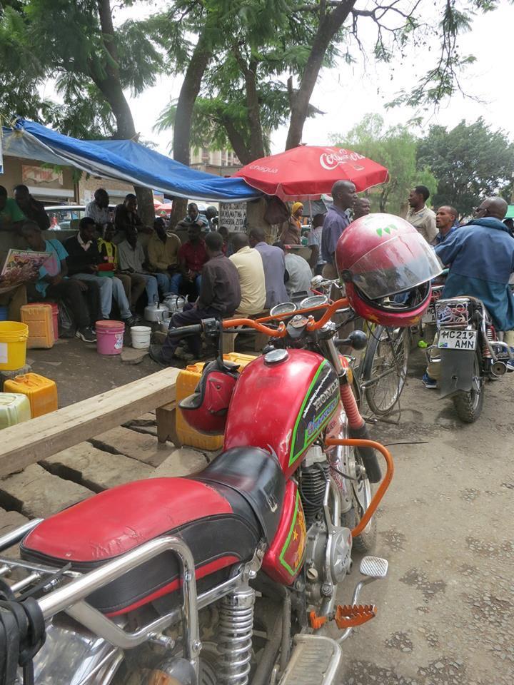 アフリカの市場