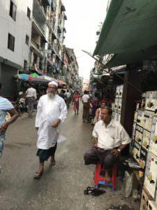 ヤンゴンインド人街