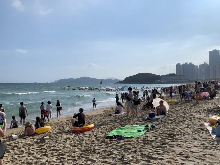 釜山海水浴