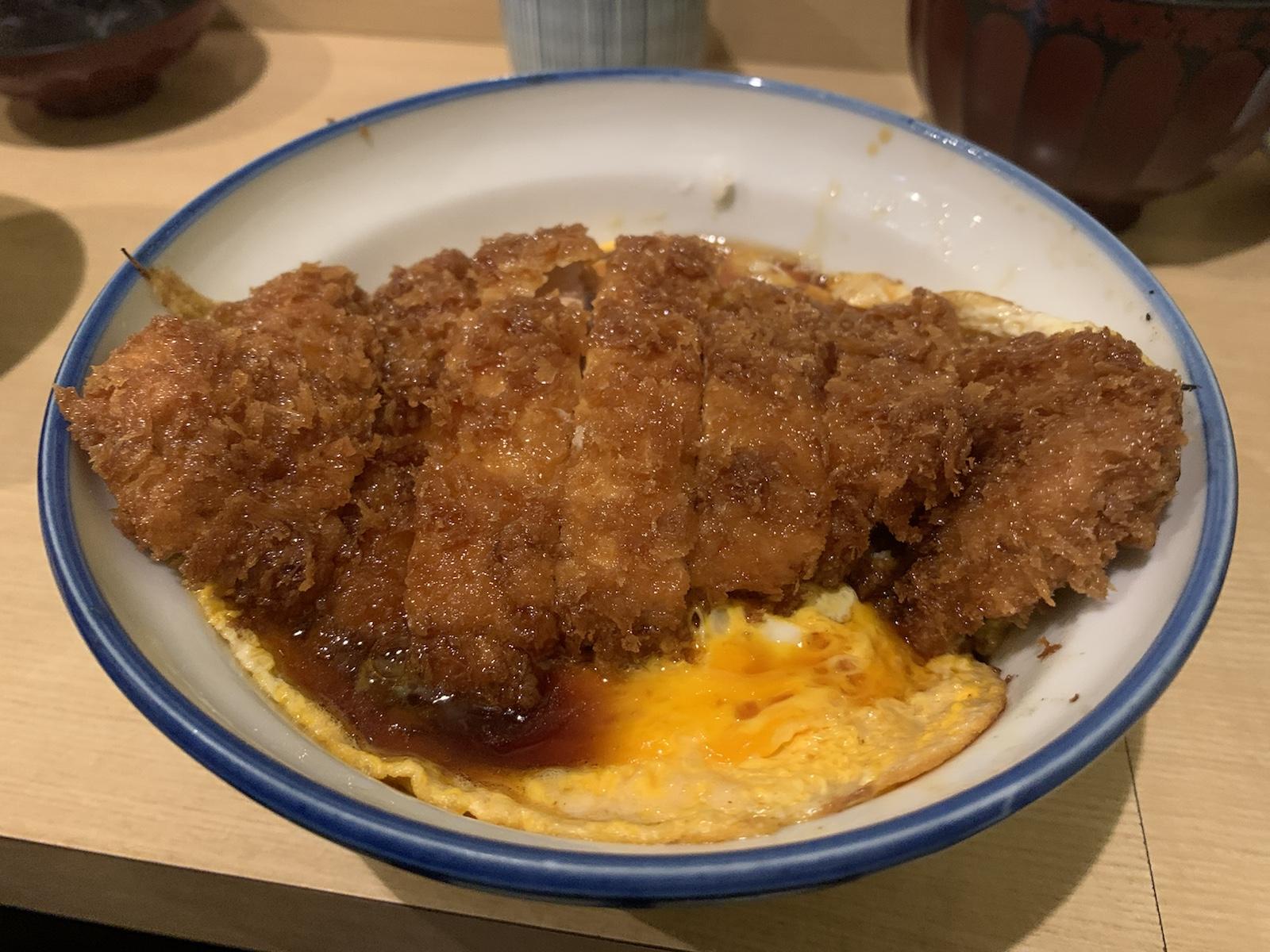 瑞兆 渋谷 カツ丼 豚カツ 行列のお店