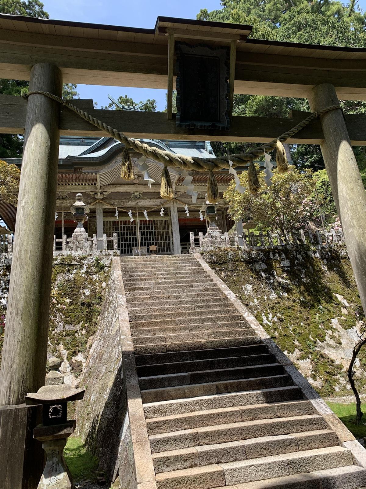 玉置神社 世界遺産 熊野三山 奥の院 パワースポット