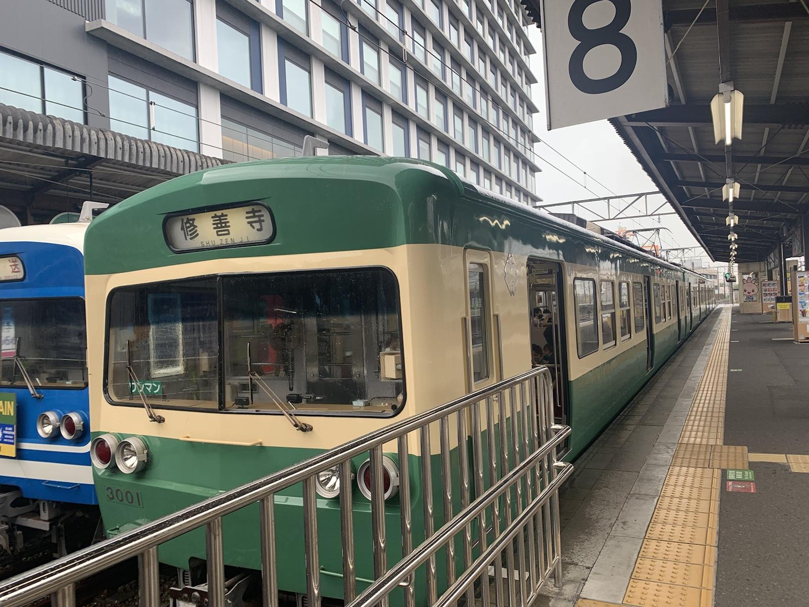 伊豆箱根鉄道 伊豆長岡駅 ローカル列車