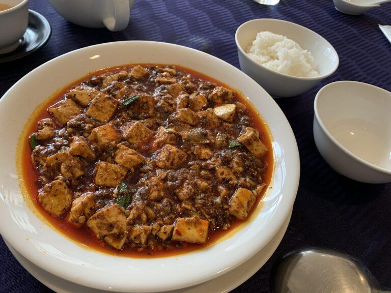 四川飯店 赤坂 麻婆豆腐 ランチ